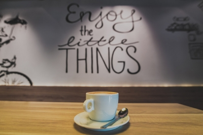 Pensamiento Positivo. Enjoy little things